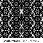 seamless geometric intricate ... | Shutterstock . vector #1142714012