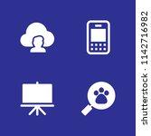 network icon set. smartphone ...
