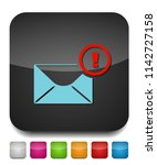 mail notify icon  mail icon ... | Shutterstock .eps vector #1142727158