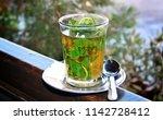 A Glass Of Hot Moorish Tea In...