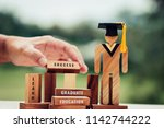 back to school concept  people... | Shutterstock . vector #1142744222