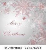 christmas background | Shutterstock . vector #114276085