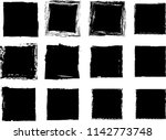 grunge post stamps collection ... | Shutterstock .eps vector #1142773748