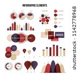 infographic elements  timeline... | Shutterstock .eps vector #1142778968