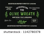 """olive wreath"". original... 