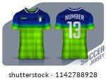 t shirt sport design template ... | Shutterstock .eps vector #1142788928