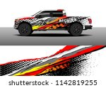 truck and vehicle graphic decal ...   Shutterstock .eps vector #1142819255