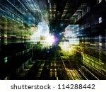 virtual construction series. ... | Shutterstock . vector #114288442