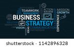 business  communication and... | Shutterstock .eps vector #1142896328