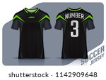 t shirt sport design template ... | Shutterstock .eps vector #1142909648