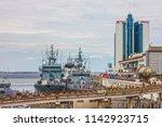 odessa  ukraine   july 26  2018 ... | Shutterstock . vector #1142923715