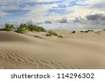 Sand Dunes On The Outer Bank ...