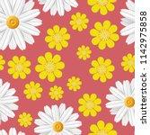 bright spring seamless pattern... | Shutterstock .eps vector #1142975858