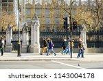 london  uk   november 19  2017  ... | Shutterstock . vector #1143004178