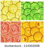 A Set Of Seamless Textures Of...