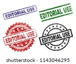 editorial use seal prints with... | Shutterstock .eps vector #1143046295