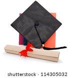 an achievement degree in... | Shutterstock . vector #114305032