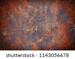 dark red grunge background | Shutterstock . vector #1143056678
