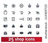 shopping  business  e commerce  ... | Shutterstock .eps vector #114305725