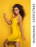 beauty  fashion shot. beautiful ... | Shutterstock . vector #1143117662