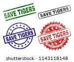 save tigers seal prints with...
