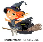 Happy Halloween  Little Witch...