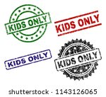 Kids Only Seal Stamps With...