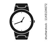 icon of wrist watch. symbol of... | Shutterstock .eps vector #1143134072
