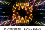 gold glitter lights background  ... | Shutterstock . vector #1143216608