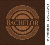 bachelor wooden signboards   Shutterstock .eps vector #1143221915