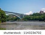spuyten duyvil creek is a short ...   Shutterstock . vector #1143236702