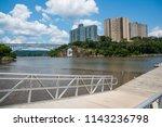 spuyten duyvil creek is a short ...   Shutterstock . vector #1143236798