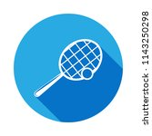 tennis racket and ball icon... | Shutterstock .eps vector #1143250298