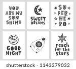 vector scandinavian style... | Shutterstock .eps vector #1143279032