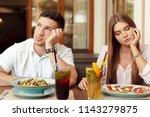 couple having relationship... | Shutterstock . vector #1143279875