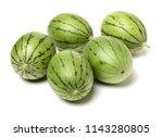 watermelon on white background  | Shutterstock . vector #1143280805