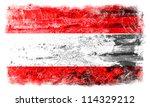 austria grunge flag | Shutterstock . vector #114329212