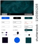 dark blue vector style guide...