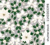 christmas vintage seamless... | Shutterstock .eps vector #1143303398