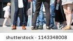london  uk   20 april  2018 ... | Shutterstock . vector #1143348008