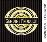 genuine product shiny emblem | Shutterstock .eps vector #1143350405