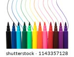 Colored Markers With Multicolo...