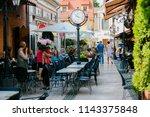 klaipeda  lithuania   august... | Shutterstock . vector #1143375848