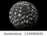 3d render metal isolated ... | Shutterstock . vector #1143403652