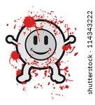 blood kid | Shutterstock .eps vector #114343222