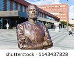 pardubice  czech republic   jul ... | Shutterstock . vector #1143437828