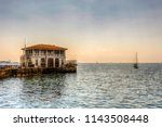 moda old ferry station in... | Shutterstock . vector #1143508448