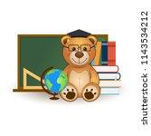 vector education illustration.... | Shutterstock .eps vector #1143534212