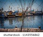 mumbai sasson dock . it is the... | Shutterstock . vector #1143556862