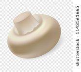fresh champignon mockup....   Shutterstock .eps vector #1143561665